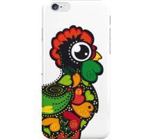 Cute Kawaii Barcelos Rooster iPhone Case/Skin