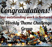 Feature Banner for Challenge - Weekly Theme Challenge Group by Jane Neill-Hancock