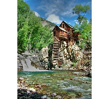 Crystal Mill View 2 Photographic Print