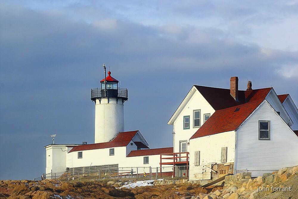 Eastern Point Lighthouse by john forrant