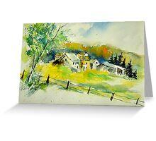 watercolor 311020 Greeting Card