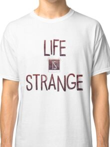 Life is strange edited logo Classic T-Shirt