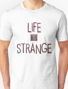 Life is strange edited logo Unisex T-Shirt