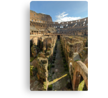 Hypogeum of the Colosseo Canvas Print