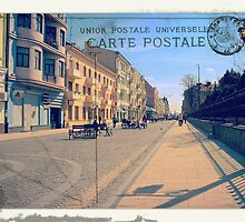 Greetings from Chernivtsi II (Postcard) by alecksmart
