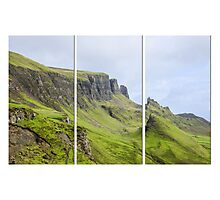 The Quiraing Triptych Photographic Print