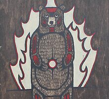 Black Bear by Mangeshig