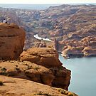 Looking Over Lake Powell by Kim Barton