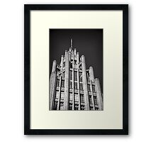 Manchester Unity Tower Framed Print
