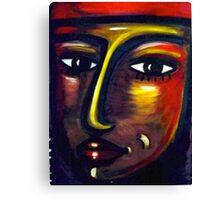Red Cap Canvas Print
