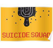 "Retro Superheroes ""Suicide Squad"" Poster"