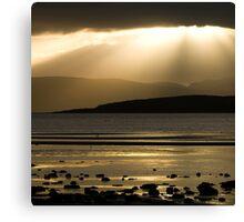 Isle Of Bute - Searchlight Canvas Print