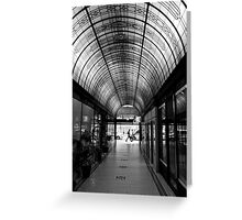 Cathedral Arcade - Melbourne Greeting Card