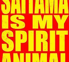 Saitama is my Spirit Animal - YELLOW by Penelope Barbalios