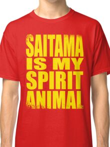 Saitama is my Spirit Animal - YELLOW Classic T-Shirt