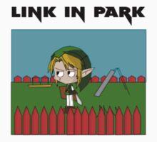 Link in Park by DapperPenguin