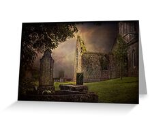 Irish Cemetery Greeting Card