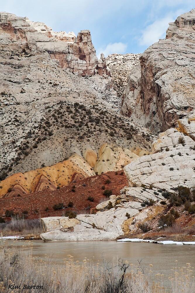 Split Mountain Zigzags by Kim Barton