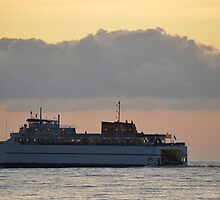 Ferry   Orient Point, New York by © Sophie W. Smith
