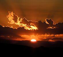 Sunrise on Fire by djackson