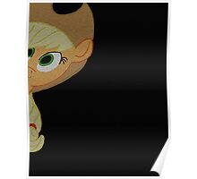 Applejack is curious. Poster