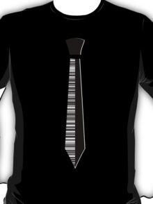 Barcode Necktie T-Shirt