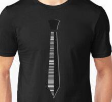 Barcode Necktie Unisex T-Shirt