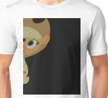 Applejack is curious. Unisex T-Shirt