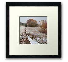 Trail to Hog Canyon Framed Print