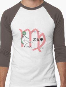 Virgo - Gardevoir Men's Baseball ¾ T-Shirt