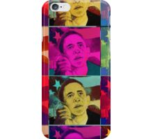 President Barack Obama - portrait iPhone Case/Skin