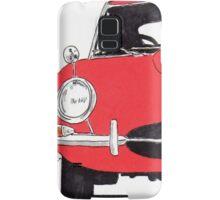 Jaguar E-Type (Red) Samsung Galaxy Case/Skin