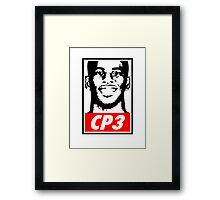 Chris Paul CP3 Obey Icon Framed Print