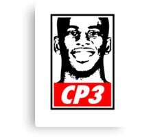 Chris Paul CP3 Obey Icon Canvas Print