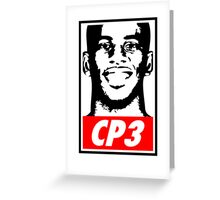 Chris Paul CP3 Obey Icon Greeting Card