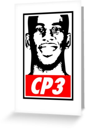Chris Paul CP3 Obey Icon by pg-flow