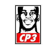 Chris Paul CP3 Obey Icon Photographic Print