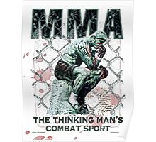 MMA The Thinking Man's Combat Sport Poster