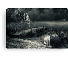 Mist On Loch Ard Canvas Print