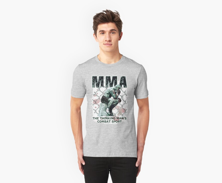 MMA The Thinking Man's Combat Sport by MudgeStudios