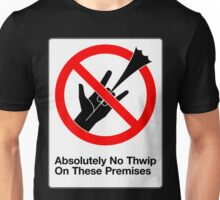 Absolutely No Thwip Unisex T-Shirt