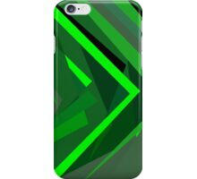 Prism (Green/Lime Green) iPhone Case/Skin