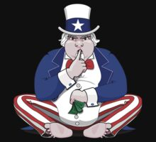 Uncle Sam Shush by LaDozor