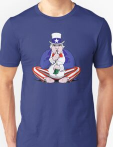 Uncle Sam Shush Unisex T-Shirt