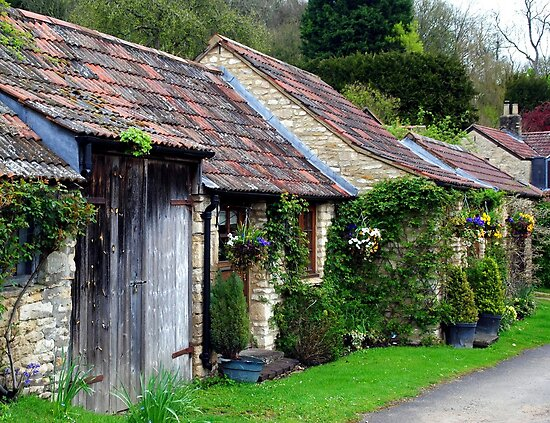 Castle Combe Cottages by Photography  by Mathilde