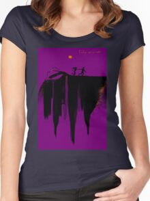 Exit Music (For a Film) Women's Fitted Scoop T-Shirt
