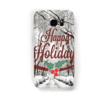 Happy Holidays Card Samsung Galaxy Case/Skin