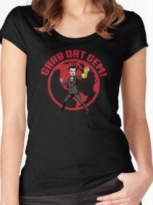 Grab Dat Gem! Women's Fitted Scoop T-Shirt