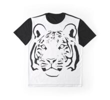 Tiger Head Graphic T-Shirt