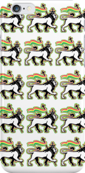 THE LION OF JUDAH iPOD & iPHONE CASES by SOL  SKETCHES™